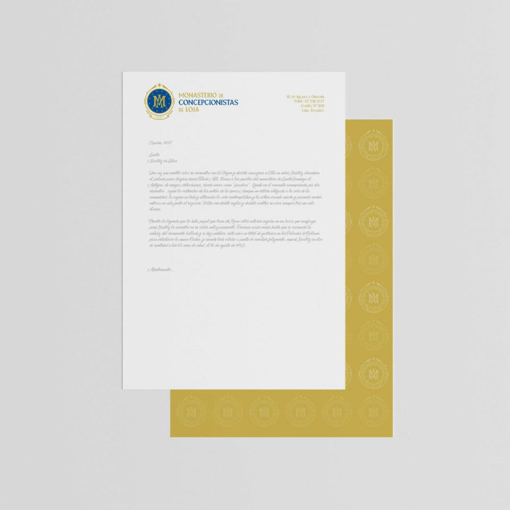 diseño identidad logotipo telmo cuenca loja ecuador